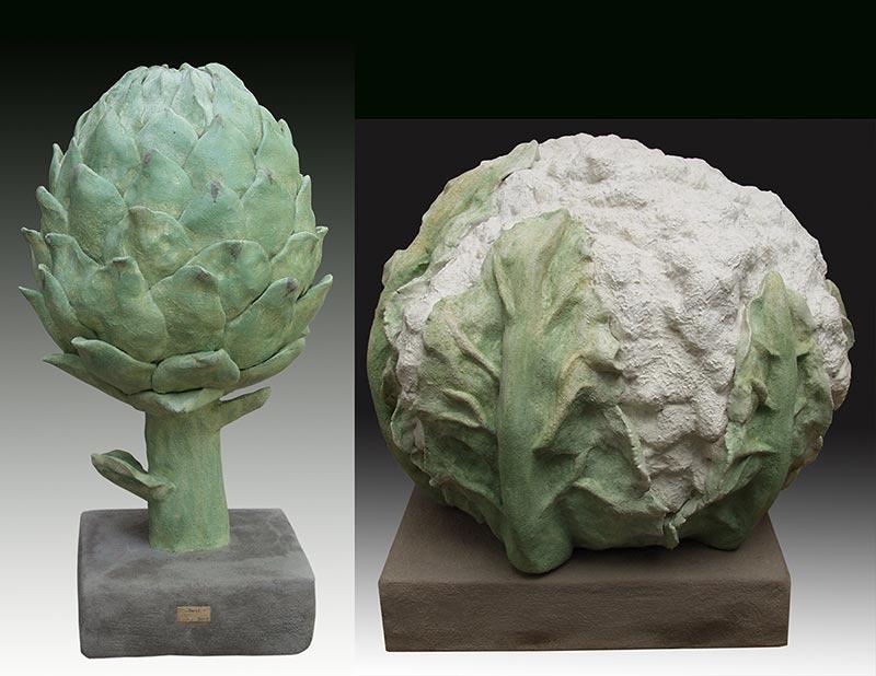 Artichoke and Cauliflower